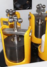 行星式球磨机装配硬质合金球磨罐